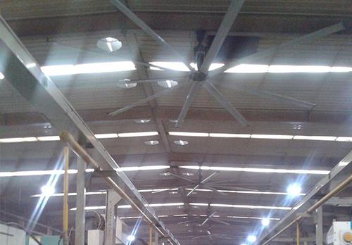 工业风扇为什么转速低功率小还能覆盖大面积?