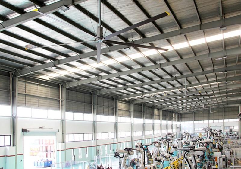 超大型工业节能风扇应用